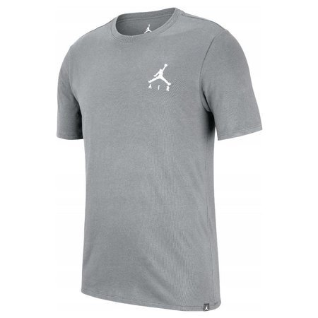 Koszulka Jordan Jumpman Air Embroidered Tee Grey AH5296-091