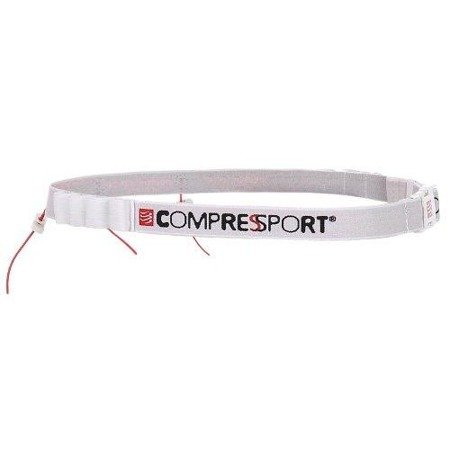 Pas Compressport Race Belt Biały BELT02